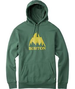 Burton Classic Mountain Pullover Hoodie Duck Green