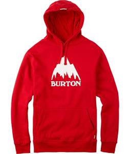 Burton Classic Mountain Pullover Hoodie Fiery Red
