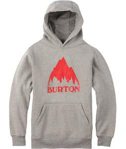 Burton Classic Mountain Pullover Hoodie Gray Heather