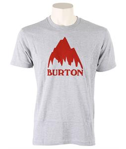 Burton Classic Mountain T-Shirt Gray Heather