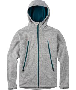 Burton Clean Fleece Pewter Heather
