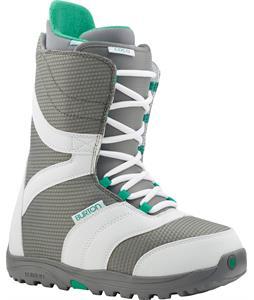 Burton Coco Snowboard Boots White/Gray/Teal
