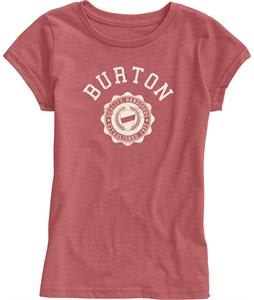 Burton Co-Ed T-Shirt Heather Cardinal