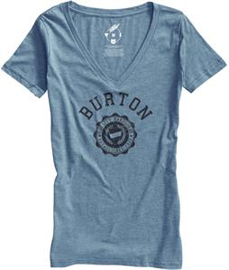 Burton Co-Ed Recycled V-Neck T-Shirt