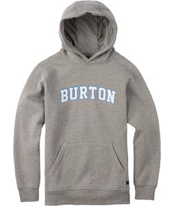 Burton College Pullover Hoodie Gray Heather