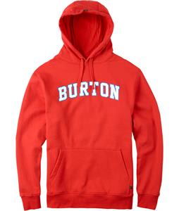 Burton College Pullover Hoodie Fiery Red