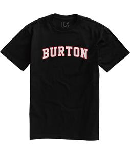 Burton College T-Shirt True Black