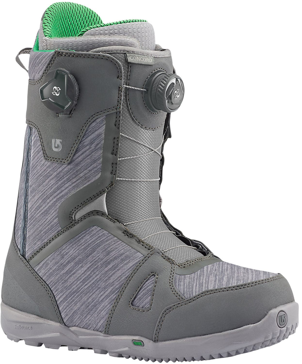 on sale burton concord boa snowboard boots up to 40 off. Black Bedroom Furniture Sets. Home Design Ideas