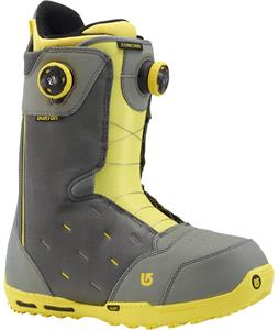 Burton Concord BOA Snowboard Boots Gray/Yellow