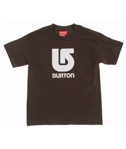 Burton Corp Vertical T-Shirt Dark Chocolate