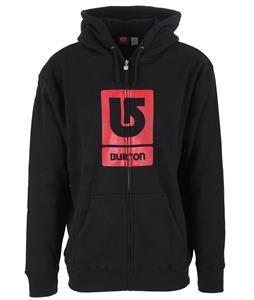 Burton Corp Vertical Zip Hoodie