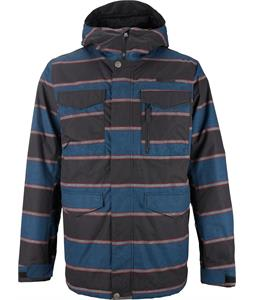 Burton Covert Snowboard Jacket Mascot Nyack Stripe