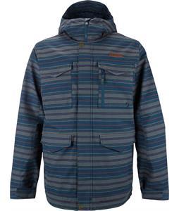 Burton BRTN Covert Snowboard Jacket Bombaclot Stripe Yarn-Dye
