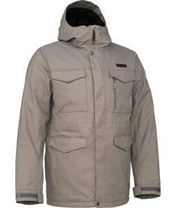 Burton Covert Snowboard Jacket Heather Bog