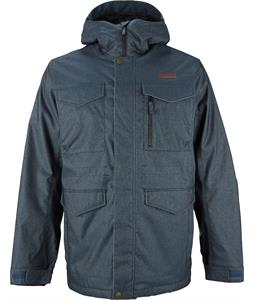 Burton BRTN Covert Snowboard Jacket Indigo Denim