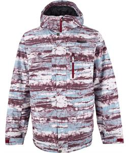 Burton Covert Snowboard Jacket Tie Dye Stripe