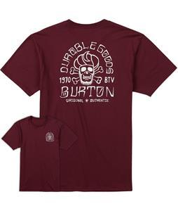 Burton Crescent Skull T-Shirt