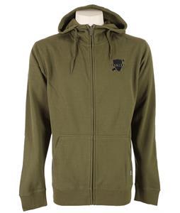Burton Crest Full-Zip Hoodie Olive
