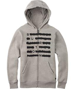 Burton Crossed Full-Zip Hoodie Gray Heather