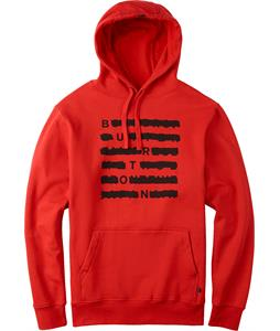 Burton Crossed Pullover Hoodie Fiery Red