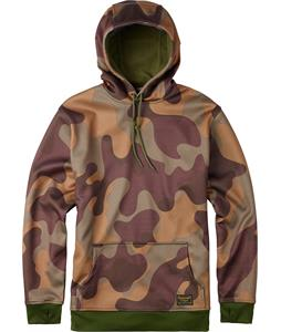 Burton Crown Bonded Pullover Hoodie Mountain Camo