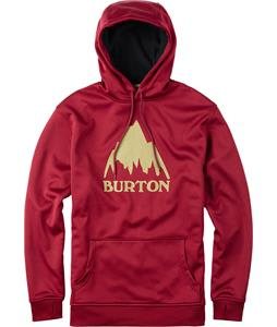 Burton Crown Bonded Pullover Hoodie Zinfandel Heather
