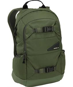 Burton Day Hiker 20L Backpack Olive Texture Block