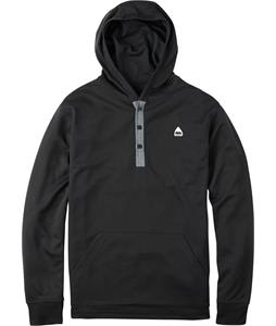 Burton Dexter Hooded Henley True Black