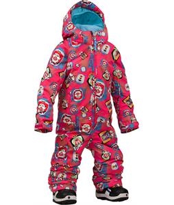 Burton Disney/Pixar Minishred Illusion One Piece Suit Pixar Print 4T