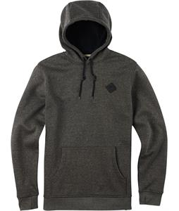 Burton Distill Pullover Hoodie True Black Heather