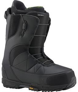 Burton Driver X Snowboard Boots Black