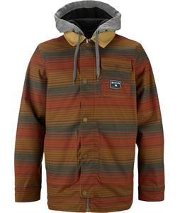 Burton Dunmore Snowboard Jacket Woody Wrangle Stripe