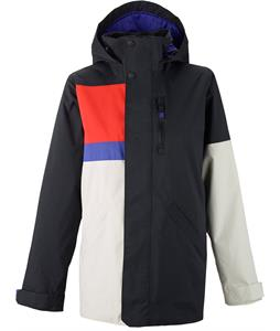 Burton Eclipse Snowboard Jacket True Black Colorblock