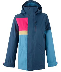 Burton Eclipse Snowboard Jacket Submarine Colorblock
