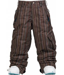 Burton Elite Cargo Snow Pants Minpin Mocha