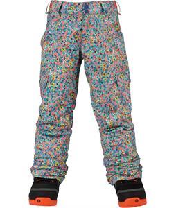 Burton Elite Cargo Snowboard Pants Sweepea Confetti Floral Print