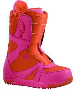 Burton Emerald Snowboard Boots Red/Pink