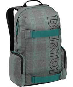 Burton Emphasis Backpack Misty Tidal Plaid 26L