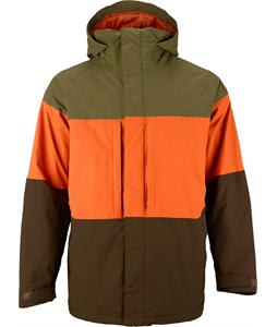 Burton Encore Snowboard Jacket Hickory Block