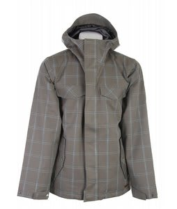 Burton Entourage Snowboard Jacket Haze Ig Molin Plaid
