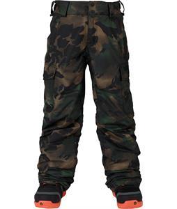 Burton Exile Cargo Snowboard Pants Hickory Pop Camo