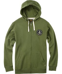 Burton Family Tree Full-Zip Hoodie Rifle Green Heather