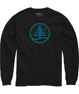 Burton Family Tree L/S T-Shirt True Black Heather