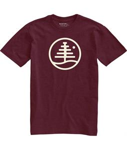 Burton Family Tree T-Shirt Zinfandel Heather