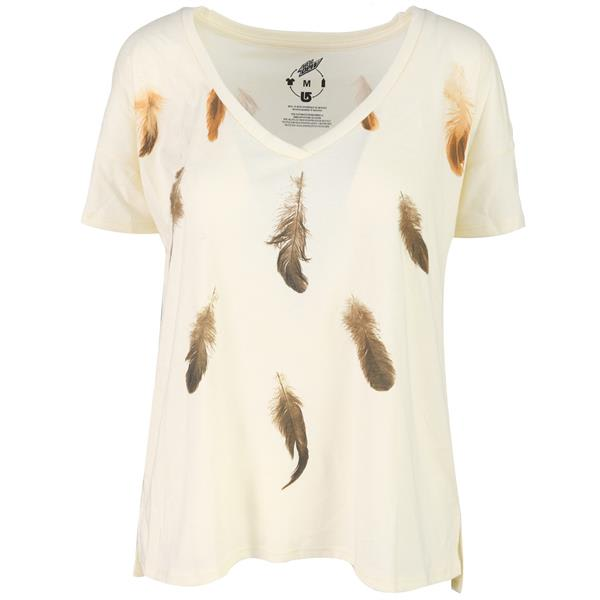 Burton Feather Fairisle V-Neck T-Shirt