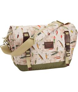 Burton Flint Messenger Bag Fishing Lures Print 20L