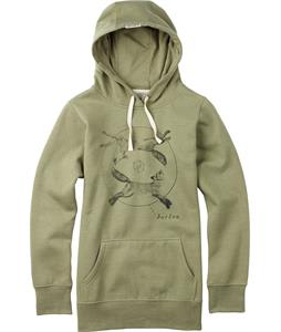 Burton Foxes Pullover Hoodie Dusky Green Heather