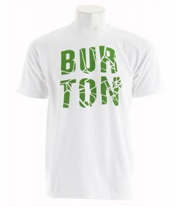 Burton Fracture T-Shirt Bright White
