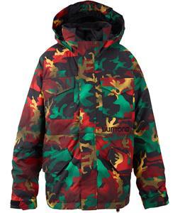Burton Fray Snowboard Jacket Yolky Pop Camo