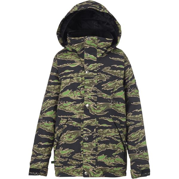 On sale burton fray snowboard jacket kids youth up to for Housse burton snowboard